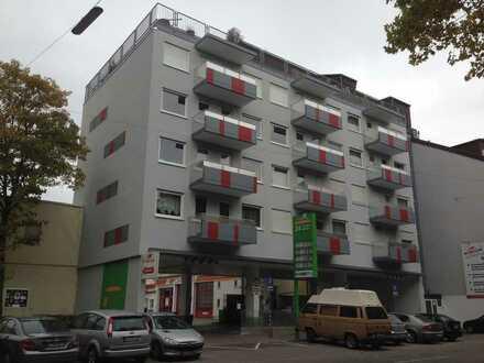Stilvolle, geräumige und gepflegte 1-Zimmer-Wohnung mit Balkon und Einbauküche in Karlsruhe
