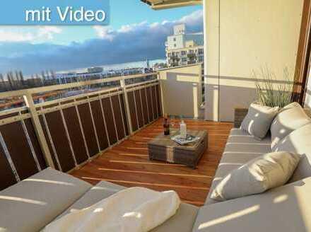 Sehr schöne vollmöblierte 2-Zi-Wohnung, gr. Balkon, hochwertige Ausstattung i. Haidhausen/Ramersdorf