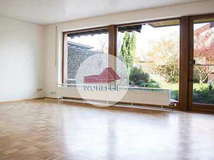 Wohlfeil Immobilien: Reihenhaus in ruhiger Lage mit schönem Gartengrundstück und Garage.
