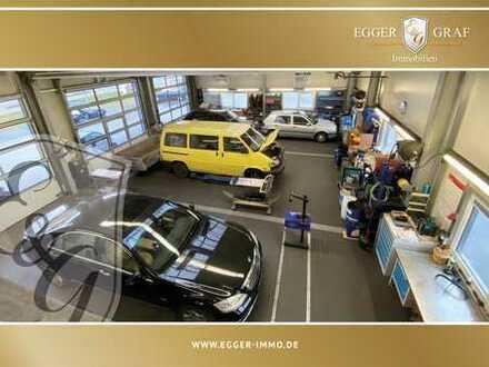-EXISTENZGRÜDER AUFGEPASST- Moderne Werkstatt im Vollbetrieb + vermietetem Imbiss zu verkaufen...!