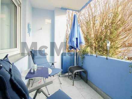 Wohnen im Grünen: Top-gepflegte 3-Zimmer-Wohnung mit Sonnenbalkon vor den Toren Nürnbergs