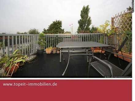 Nähe Bergmannsheil: Moderne 5,5-Zi-Maisonette-Wohnung mit EBK, 2 Balkonen in Bochum-Weitmar