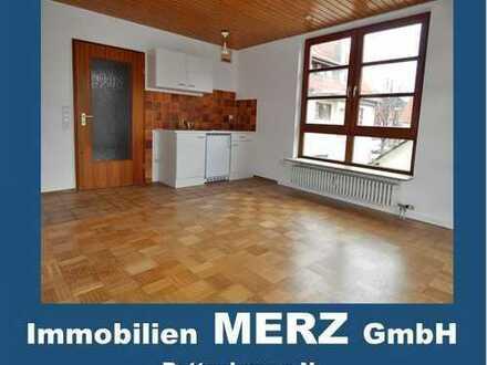 ~~ 1 Zimmer Apartment mit Küchenzeile+Terrasse+Carport~~