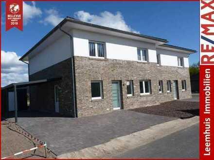 Moderne Doppelhaushälfte * Stadtvilla * Fußbodenheizung * Erstbezug * Weener