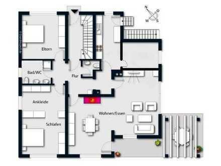 Erstbezug nach vollständiger Renovierung: 4-Zimmer-EG-Wohnung mit Terrasse in Ellwangen (Jagst)