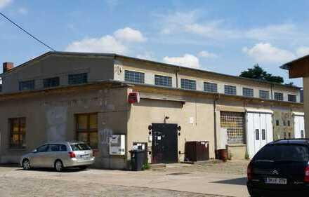 Werkstatt in Halle-Ost
