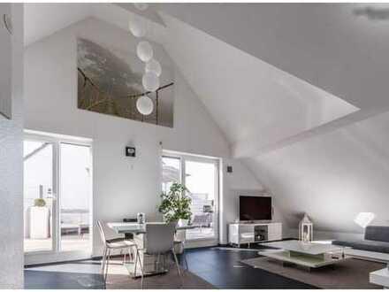 Außergewöhnliches luxuriöses Haus im Haus, 4-5 Zimmer mit Traumterrasse in schönster Südlage.