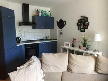Stilvolle 1-Zimmer-Wohnung mit Balkon und EBK in Worms