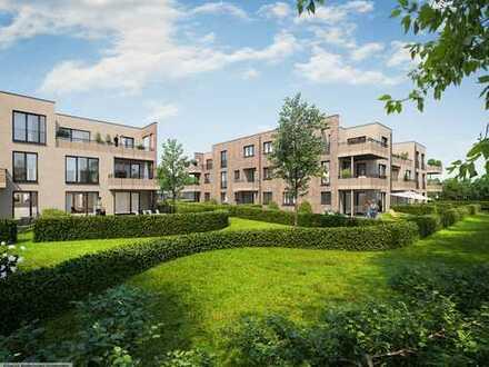 Erstbezug: ansprechende 3-Zimmer-Gartenwohnung mit Terrasse in Wennigsen