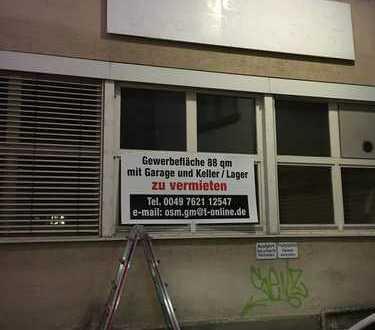 Gewerbefläche Nutzungsänderung Beantragbar 88qm Innenstadt Kernlage