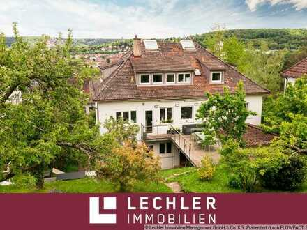 Mehrfamilienhaus in sonniger Halbhöhenlage mit Panoramablick