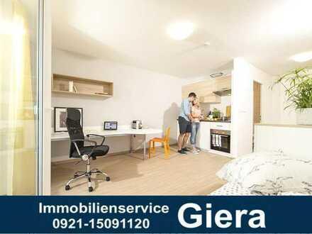 Campus Jakobshöhe - Möbliertes 1 Zimmer Apartment mit Balkon