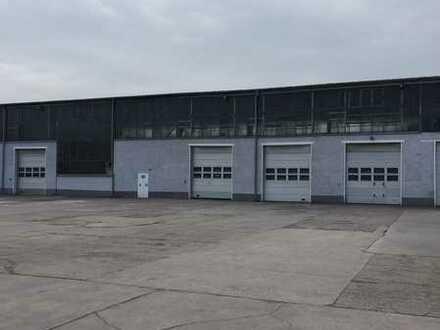 Gewerbehalle und Freilagerfläche mit guter Verkehrsanbindung