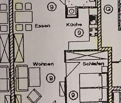 Seniorenwohnung, 2-Zimmer, sonnig, ruhig & zentral in Dießen am Ammersee