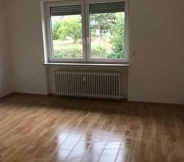 Vollständig renovierte Erdgeschosswohnung mit vier Zimmern sowie Balkon und Einbauküche in Hofheim