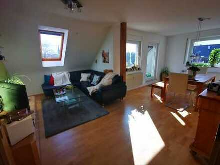 Im Herzen der Innenstadt - 4-Zimmer-DG-Wohnung mit Balkon und EBK in Forchheim