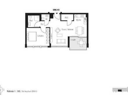 Besichtigung jeden Samstag 11:00 - 12:00Uhr; Heimelige 2-Zimmer Wohnung (Whg. 3)