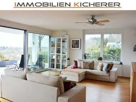 VERMIETET - Modernes, großzügiges Wohnen mit Blick ins Grüne - zentrale Ortsrandlage bei Meersburg