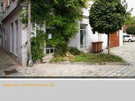 Schmuckes denkmalgeschütztes Haus in der Stadtmitte von Ansbach