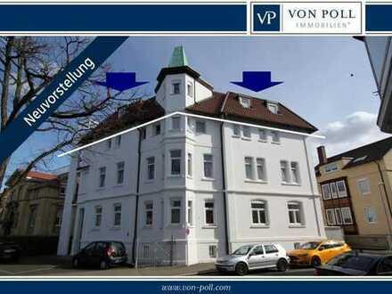 Großzügige 5- Zimmer- Dachgeschosswohnung mit 2 Balkonen und Homelift