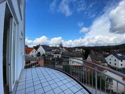 Modernisierte 2-Zimmer-Maisonette-Wohnung mit Balkon und Einbauküche in Haibach