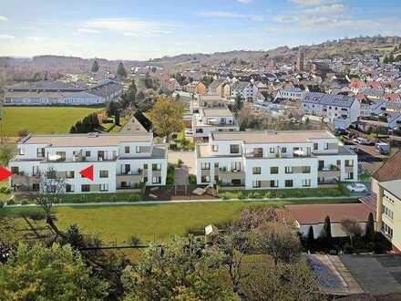 Erstbezug mit Einbauküche und Balkon: exklusive 2-Zimmer-Wohnung in Goldbach