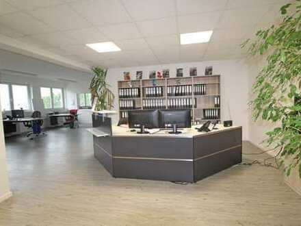 Hochwertige Büroräume im Weilheimer Trifthof (Teilfläche im Grundriss grün)