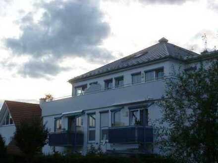 Gepflegte 3-Zimmer-Penthouse-Wohnung mit Dachterrasse in Mindelheim