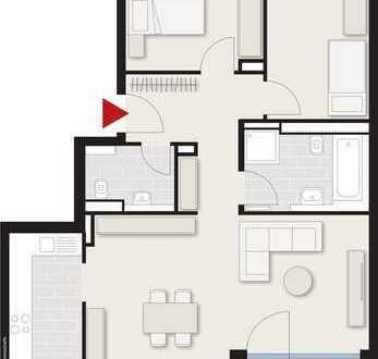 Schöne 3-Zimmer Wohnung mit Balkon