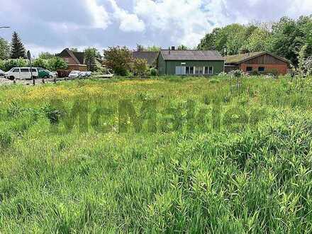 Bauen Sie auf der Halbinsel Eiderstedt: Voll erschlossenes Grundstück in naturnaher Lage von Tönning