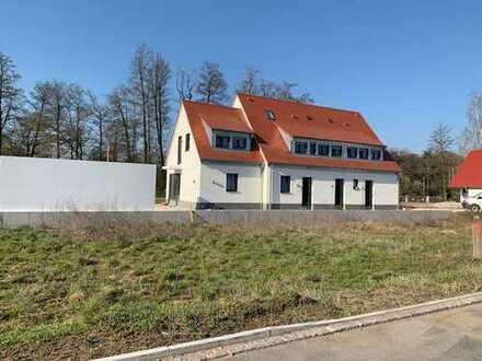 Schönes Neubauhaus, idyllisch am Feldrand mit unverbaubarer Lage, in Nürnberg Kleingründlach