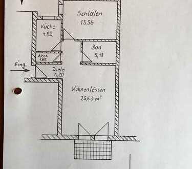Schöne zwei Zimmer Wohnung in Aichach-Friedberg (Kreis), Kissing, Altkissing