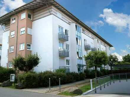 helle 2-Zimmer-Wohnung im 2.OG mit zwei Balkonen