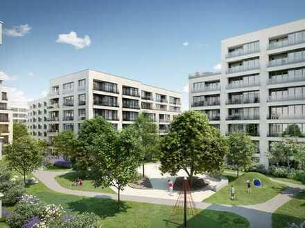Moderne 2-Zimmer-Erdgeschosswohnung auf ca. 64 m² mit großer Terrasse und schönem Garten