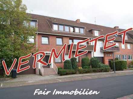 * GARTENSTADT VAHR, NÄHE RENNPLATZ & DAIMLER l Renovierte 2-Zi. Wohnung in ruhiger Seitenstraße *