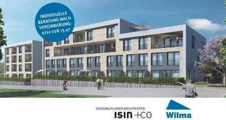 Moderne 2-Zimmer-Wohnung mit sonniger Loggia in Premiumlage - BAUSTART