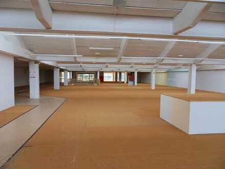 ***€ 3,90/m²*** ATTRAKTIVE VERKAUFS-/LAGERFLÄCHE (ca. 2.230 m² Erdgeschoss) AB SOFORT ZU VERMIETEN