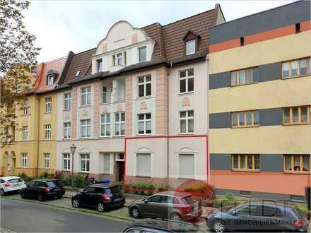 Vermietete 3-Raum-Wohnung mit Balkon in der Anger-Siedlung