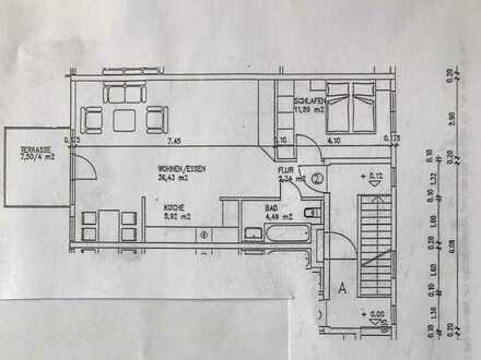 neu renovierte 2-Zimmer Erdgeschoßwohnung in Forchheim
