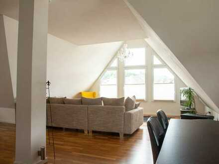 Modernisierte 2-Raum-Maisonette-Wohnung mit Einbauküche in Bad Laasphe