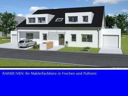 Frechen-City: Exklusive 3-Zimmer Wohnung mit eigenem Gartenanteil
