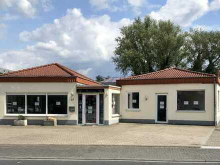 ... RAUM FÜR IHR GESCHÄFT!  100 m² / eigenständiges Gebäude / Parkplätze