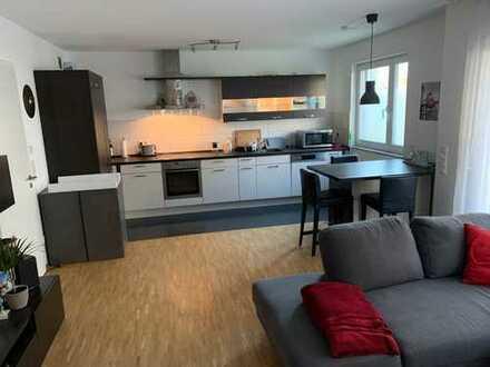 Exklusive, neuwertige 2-Zimmer-Erdgeschosswohnung mit eigenem Garten und EBK in Erlangen