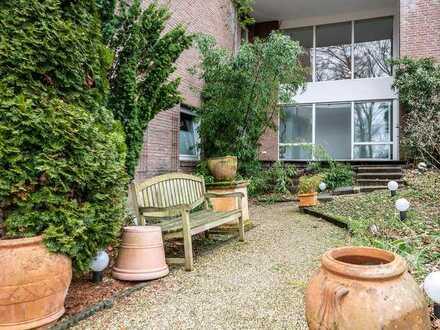 E-Bredeney: Außergewöhnliche Garten-ETW in exzellenter Lage
