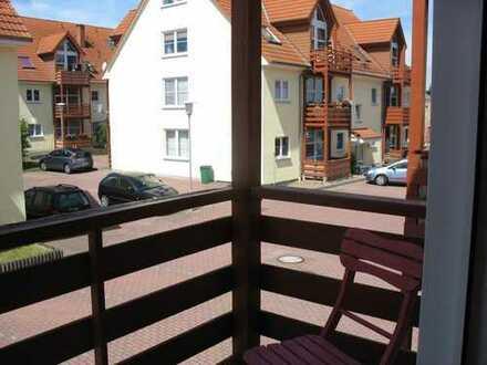 1-Raumapartement mit Balkon, möbliert