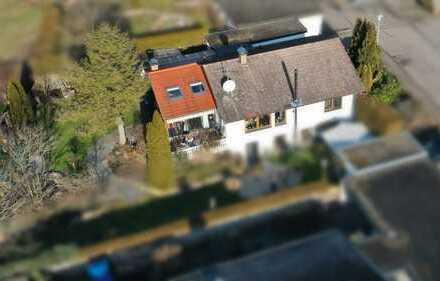Tolle Erdgeschosswohnung im Zweifamilienhaus in ruhiger Lage und 450 qm eigenem Garten