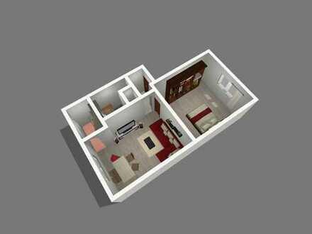 Helle Wohnung mit modernem Duschbad