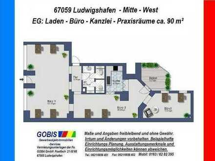 Lu City 1.2.2019 früher/später Büro/Praxis 90 m² moderne Räume + beste technische Ausstattung