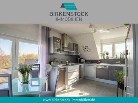 Hochwertig ausgestattete Maisonette-Wohnung mit Balkon in ruhiger Lage Düsseldorfs