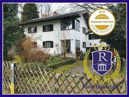 Verkauf mit Wohnrecht - Haus mit schönem Grundstück in Brannenburg